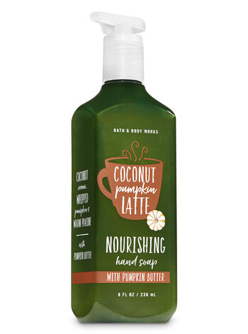Coconut Pumpkin Latte Hand Soap with Pumpkin Butter - Bath And Body Works