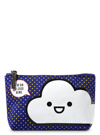 Polka Dot Cloud Nine Cosmetic Bag Cosmetic Bag - Bath And Body Works