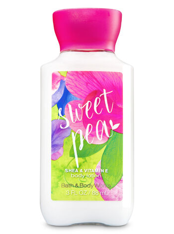 Signature Collection Sweet Pea Travel Size Body Lotion - Bath And Body Works