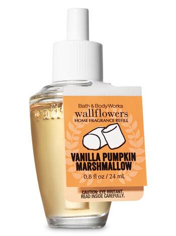 Vanilla Pumpkin Marshmallow Wallflowers Fragrance Refill - Bath And Body Works