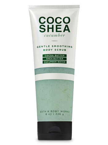 CocoShea Cucumber Lightly Smoothing Body Scrub - Bath And Body Works