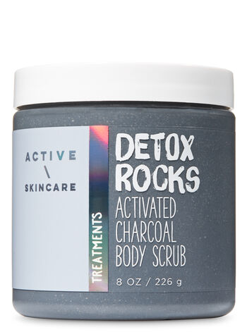 Signature Collection Detox Rocks Activated Charcoal Body Scrub - Bath And Body Works