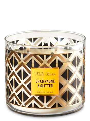 Champagne & Glitter 3-Wick Candle - Bath And Body Works