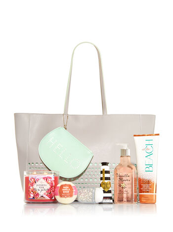 Gray Mother's Day Tote - Bath And Body Works
