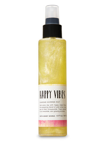 Happy Vibes Diamond Shimmer Mist - Bath And Body Works
