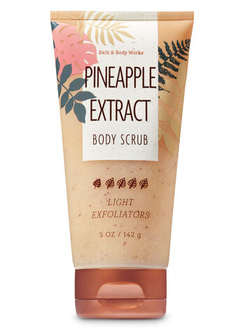Pineapple Extract Body Scrub - Bath And Body Works