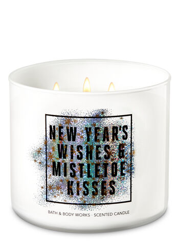 Merry Mistletoe 3-Wick Candle - Bath And Body Works