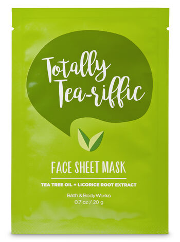 Totally Tea-riffic Face Sheet Mask