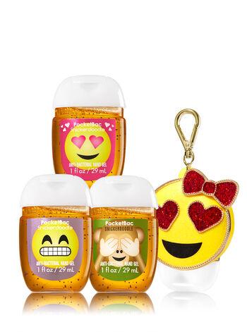 Emoji Love 3-Pack PocketBac & Holder - Bath And Body Works