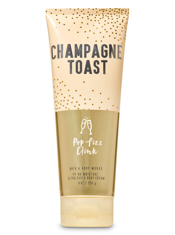 Champagne Toast Ultra Shea Body Cream Signature