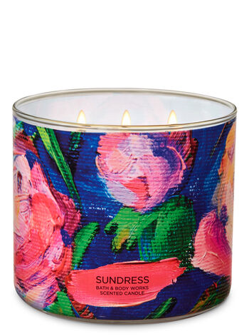 Sundress 3-Wick Candle - Bath And Body Works