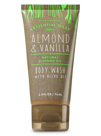 Almond & Vanilla Travel Size Body Wash - Bath And Body Works