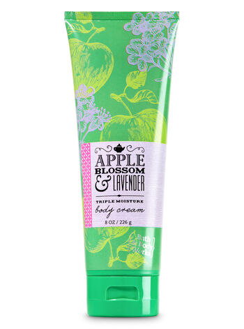 Signature Collection Apple Blossom & Lavender Body Cream - Bath And Body Works