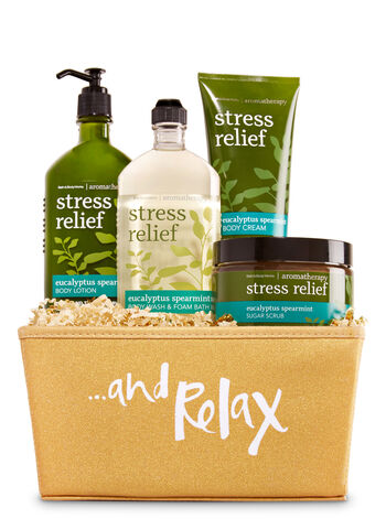 Aromatherapy Eucalyptus Mint Just 4 You Aromatherapy Gift Set - Bath And Body Works
