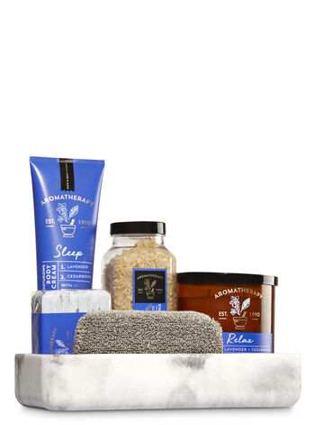 Sleep - Lavender  & Cedarwood Gift Set - Bath And Body Works
