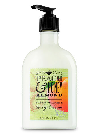 Signature Collection Peach & Honey Almond Body Lotion - Bath And Body Works