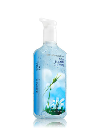 Sea Island Cotton Deep Cleansing Hand Soap - Bath And Body Works