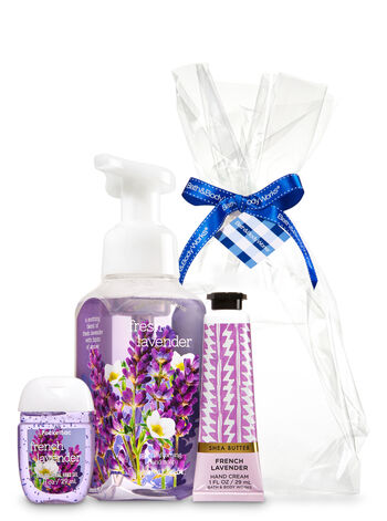 French Lavender Happy Hands Gift Kit - Bath And Body Works
