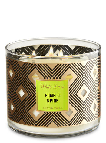 Pomelo & Pine 3-Wick Candle - Bath And Body Works
