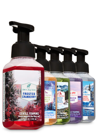 Great Outdoors Gentle Foaming Hand Soap, 5-Pack - Bath And Body Works