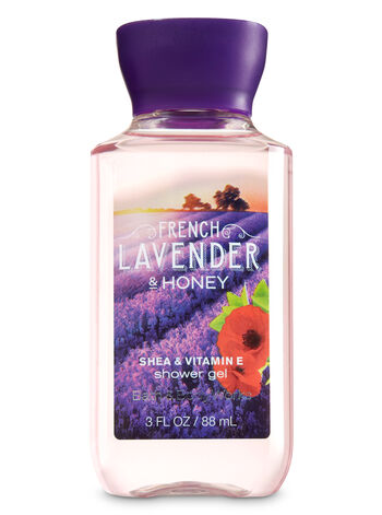 Signature Collection French Lavender & Honey Travel Size Shower Gel - Bath And Body Works