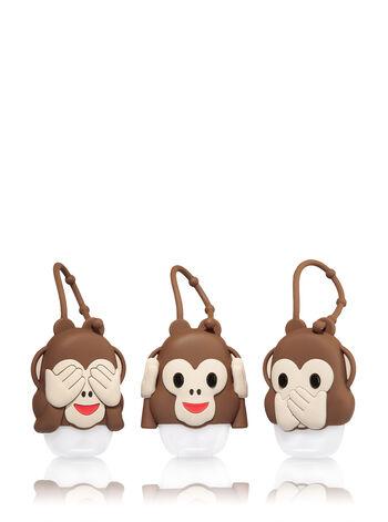 BFF Monkeys Set of 3 PocketBac Holders - Bath And Body Works