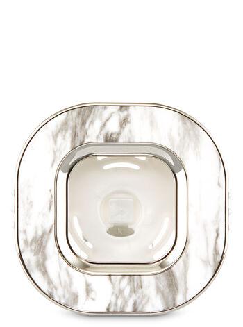 Marble Square Vent Clip Scentportable Holder