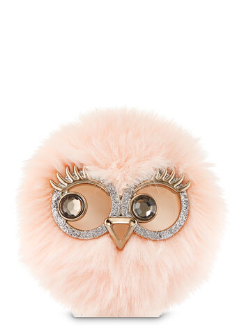 Pink Lady Owl Visor Clip Scentportable Holder - Bath And Body Works