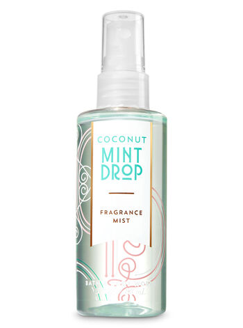 Signature Collection Coconut Mint Drop Travel Size Fine Fragrance Mist - Bath And Body Works