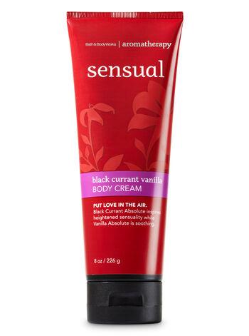 Aromatherapy Black Currant Vanilla Body Cream - Bath And Body Works