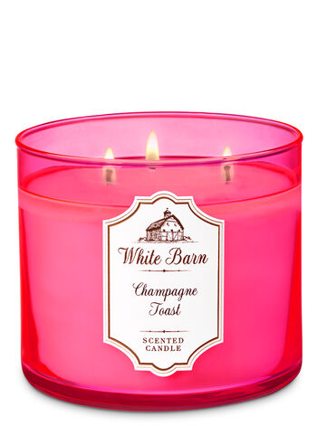 White Barn Champagne Toast 3-Wick Candle - Bath And Body Works