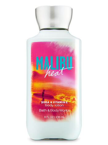 Signature Collection Malibu Heat Body Lotion - Bath And Body Works