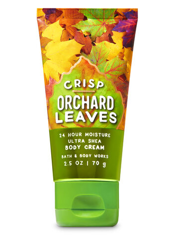 Crisp Orchard Leaves Travel Size Body Cream - Bath And Body Works