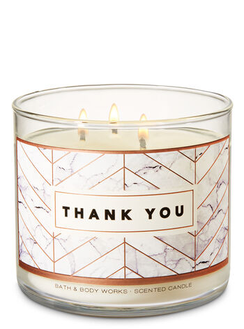 Merci Paris 3-Wick Candle - Bath And Body Works