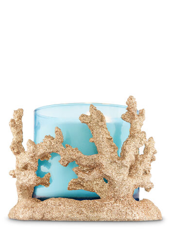 Shimmering Coral 3-Wick Candle Sleeve