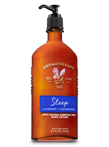 Aromatherapy Sleep - Lavender & Cedarwood Body Lotion - Bath And Body Works