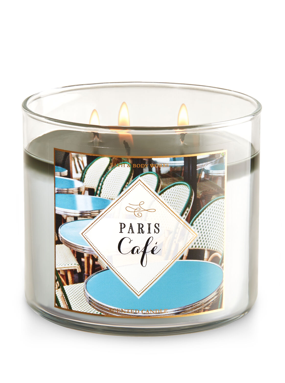 Paris Caf Eacute 3 Wick Candle Bath And
