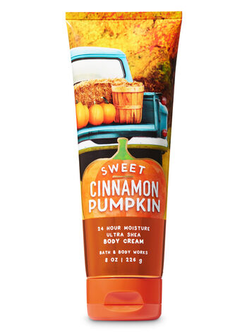 Signature Collection Sweet Cinnamon Pumpkin Ultra Shea Body Cream - Bath And Body Works