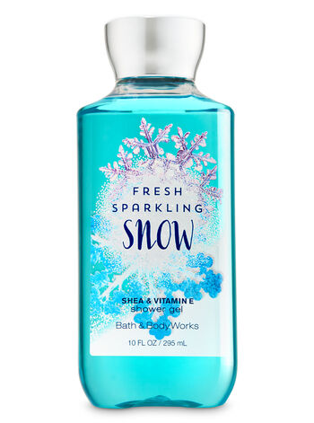 Signature Collection Fresh Sparkling Snow Shower Gel - Bath And Body Works