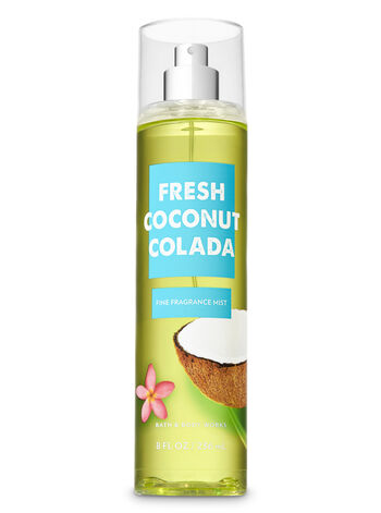 Signature Collection Fresh Coconut Colada Fine Fragrance Mist - Bath And Body Works