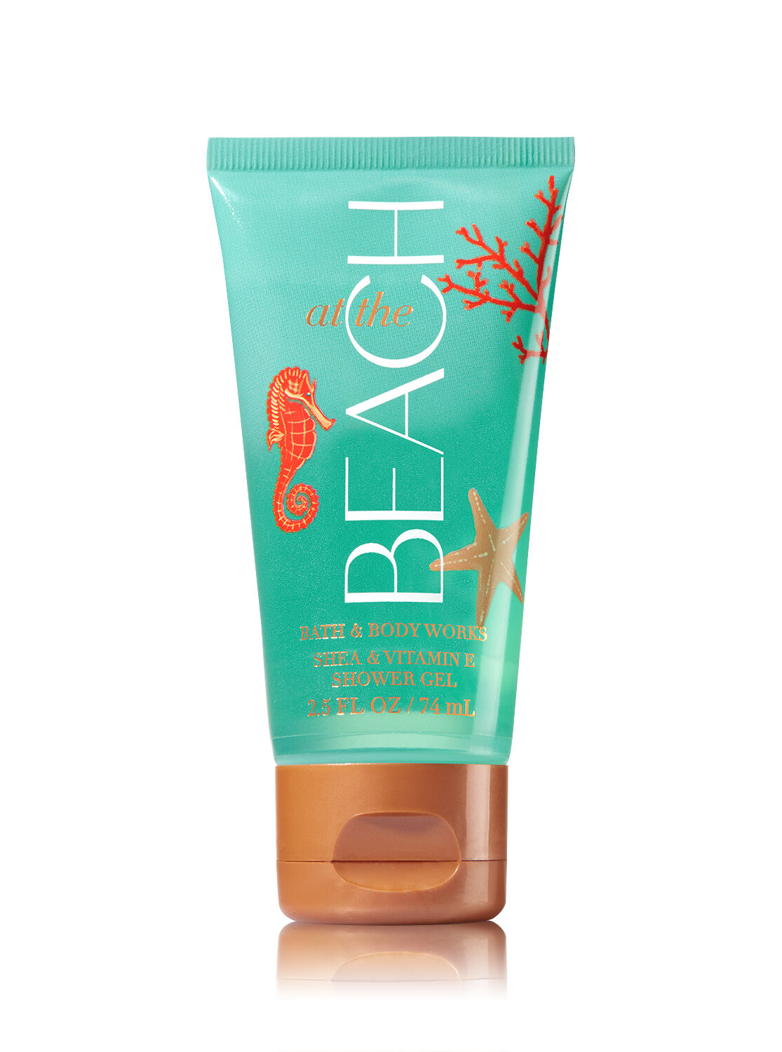 signature collection at the beach travel size shower gel bath and body works