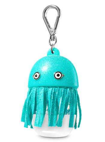 Blue Jelly Fish Light-Up PocketBac Holder - Bath And Body Works