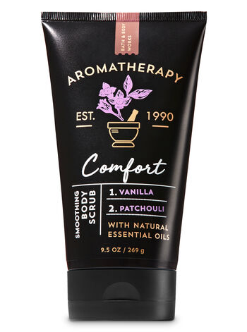 Aromatherapy Comfort - Vanilla & Patchouli Smoothing Body Scrub - Bath And Body Works