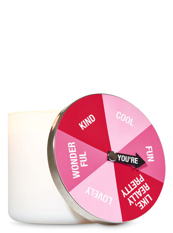 Spinner 3-Wick Candle Lid Magnet - Bath And Body Works