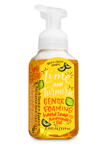 Lime & Turmeric Gentle Foaming Hand Soap - Bath And Body Works
