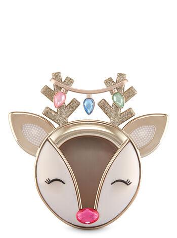 Jeweled Reindeer Visor Clip Scentportable Holder - Bath And Body Works