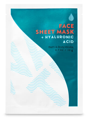Water Hyaluronic Acid Face Sheet Mask - Bath And Body Works