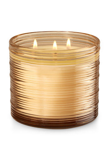 Coconut Sandalwood 3-Wick Candle - Bath And Body Works