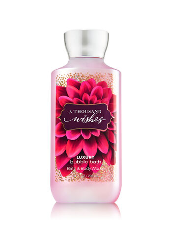 Signature Collection A Thousand Wishes Luxury Bubble Bath - Bath And Body Works