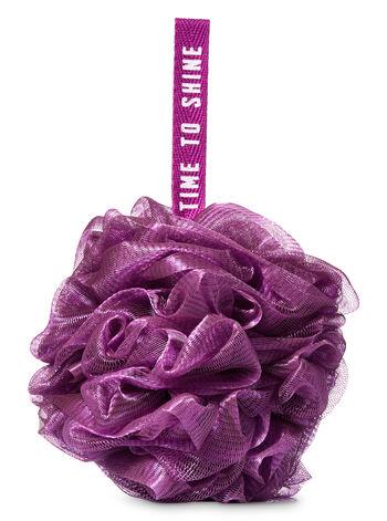 Dark Purple Mesh Sponge - Bath And Body Works
